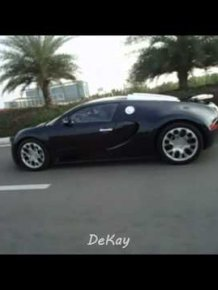 How Bugatti Goes Over Speed Bumps