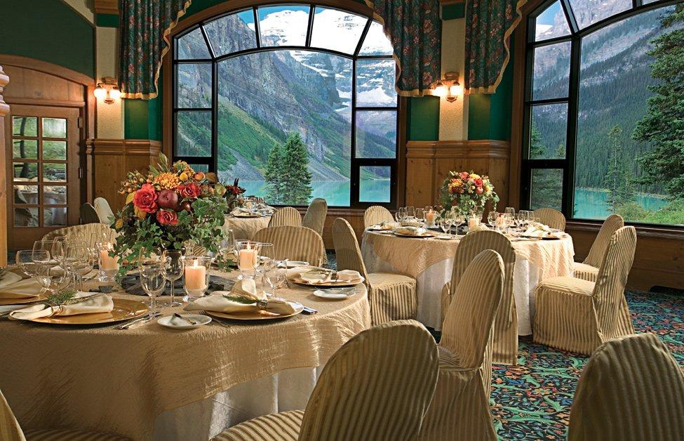 Hotel Fairmont Chateau Lake Louise in Canada