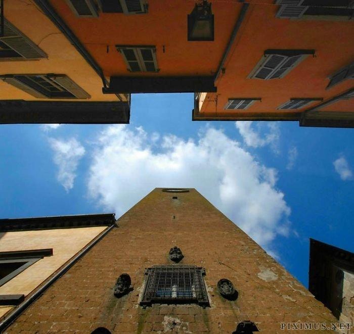 Sky Inside Buildings