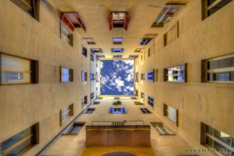 Sky Inside Buildings