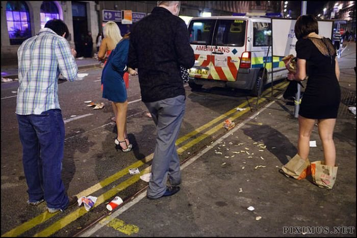 English People Know How to Party