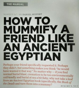 Egyptian Mummification in 9 Easy Steps