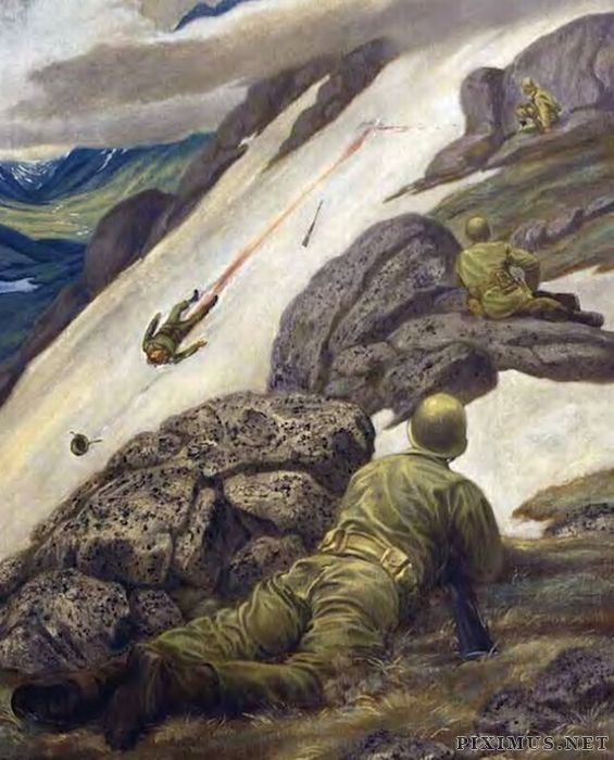 War Drawings by US Soldiers