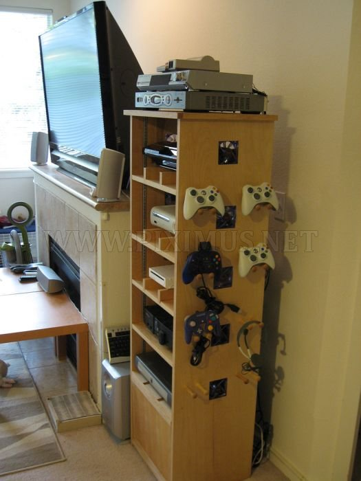 Cabinet for a Gaming Geek