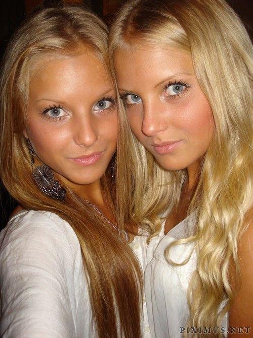 Girls with beautiful eyes