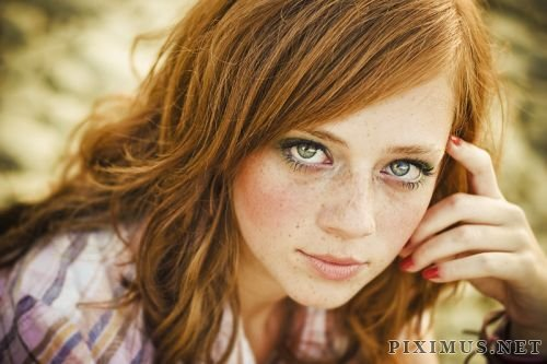 Girls with beautiful eyes