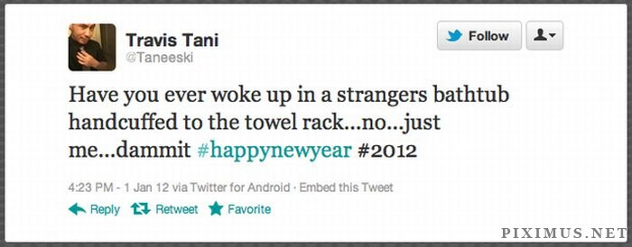People Who Woke Up On New Year's Day In A Strange Place