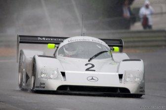 Michael Schumacher in the Sauber C11