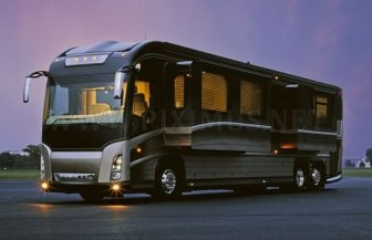 Very Big Luxurious Bus