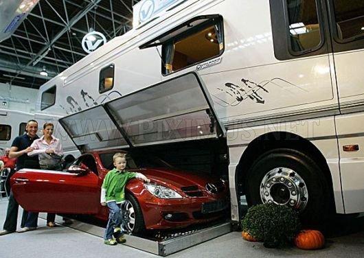 Very Big Luxurious Bus