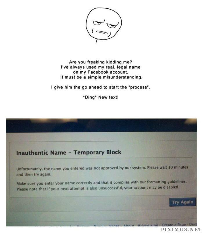 Facebook Ban Story