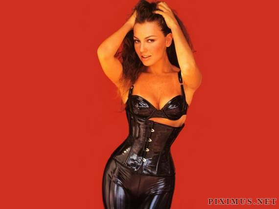 Celebrities in latex
