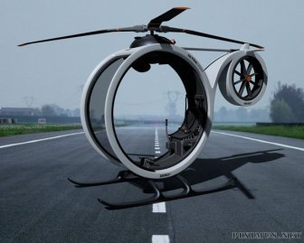 Helicopter Concept by Héctor Del Amo