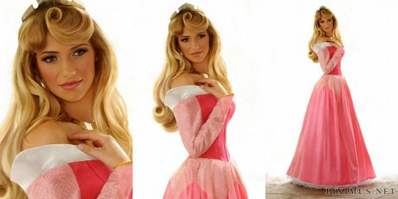 Disney Princesses Brought to Life
