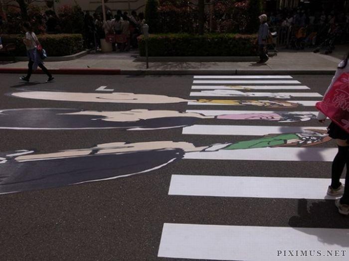 Peanuts do Abbey Road