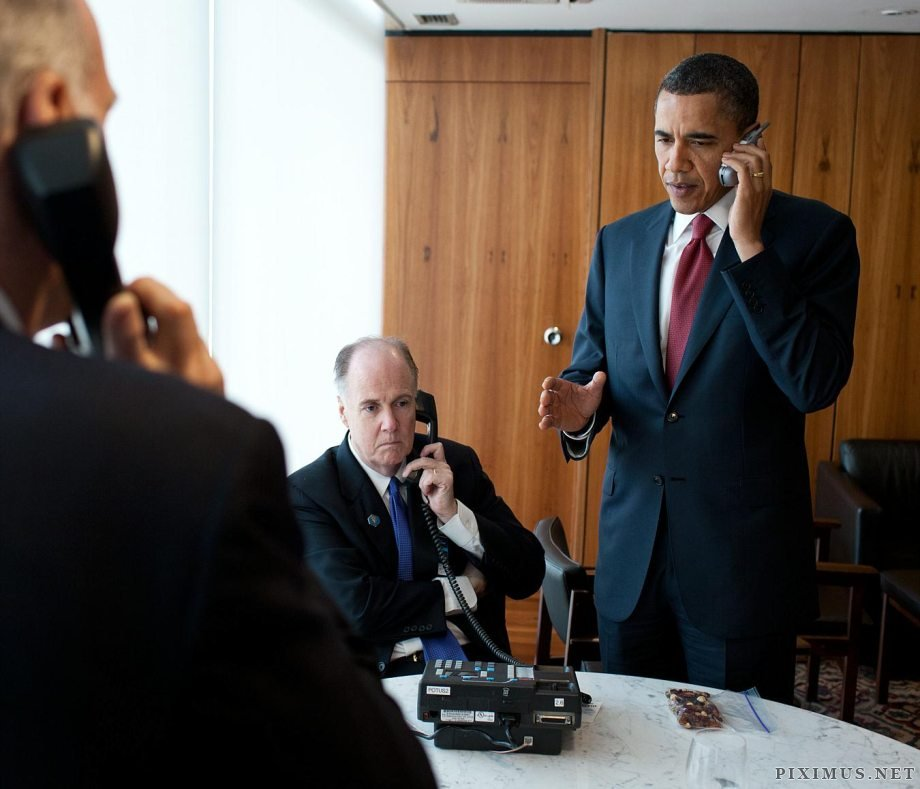 Obama and his many phones