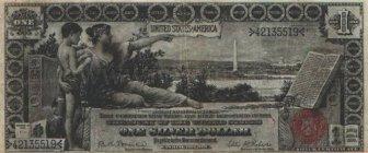 Very Rare old US Dollar Bills