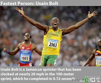 Fastest things in the World