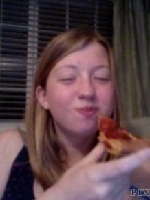 Eating Pizza With Dogs