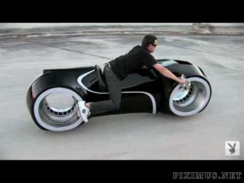 The Tron Bike