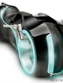 The Tron Bike
