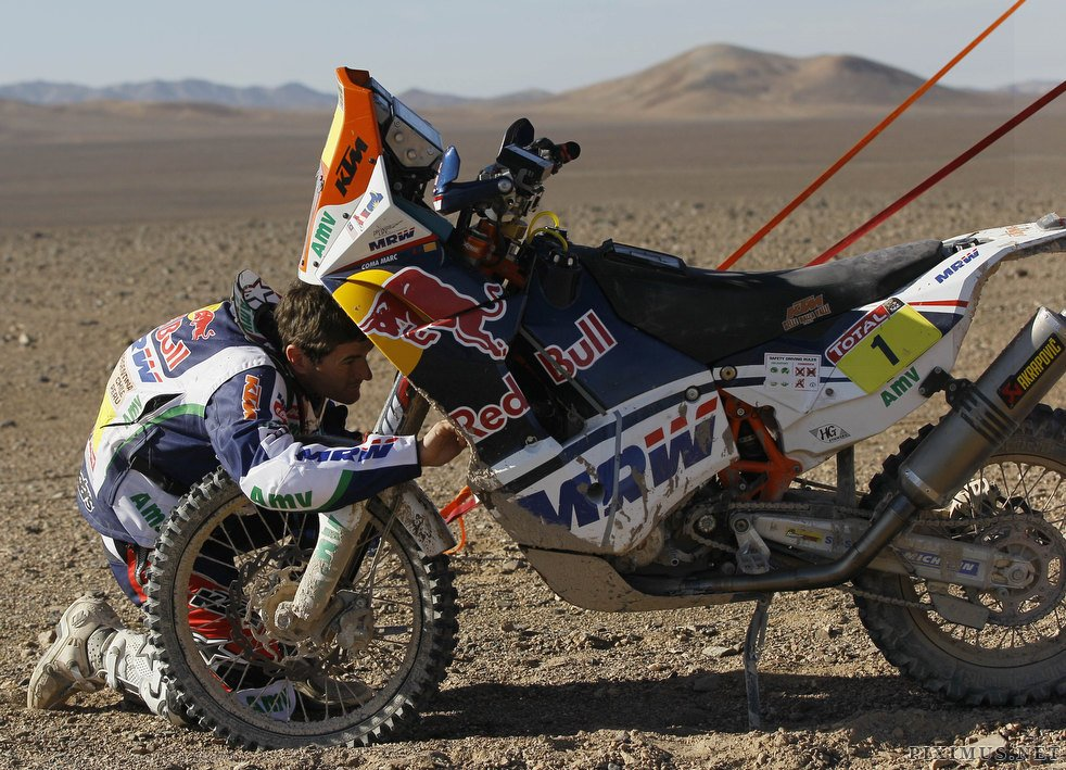 Dakar Rally 2012, part 2012