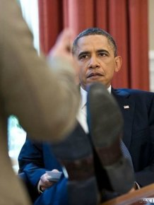 President Obama At Work