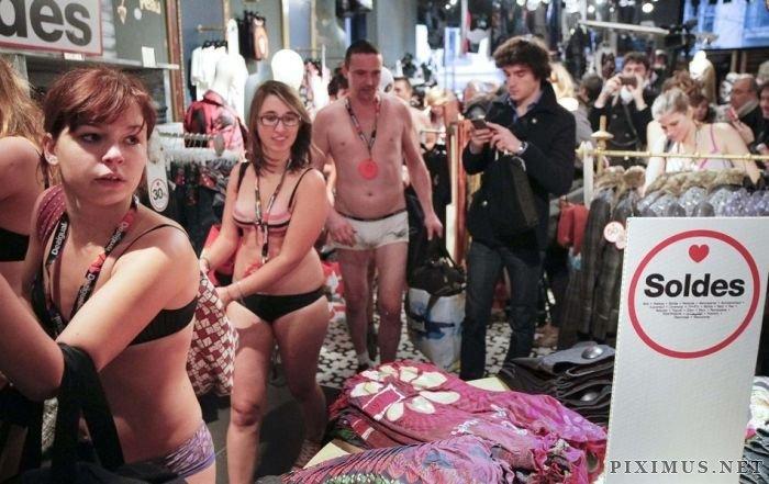 Arrive Half-Naked, Leave Fully Dressed Sale
