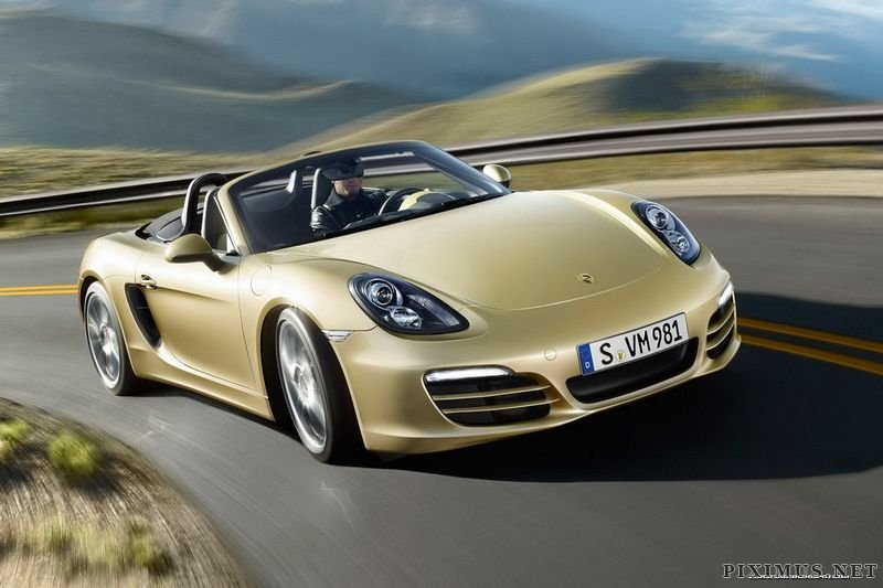 Porsche has unveiled the new Boxster