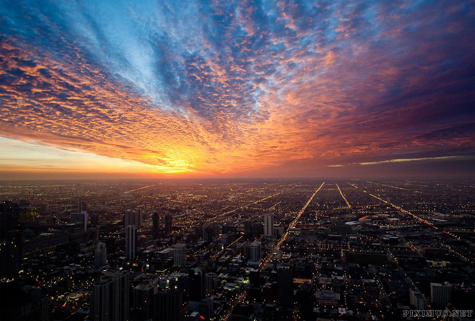 stunning chicago sunset flickr worldwide must places around collect pro cityscape piximus later