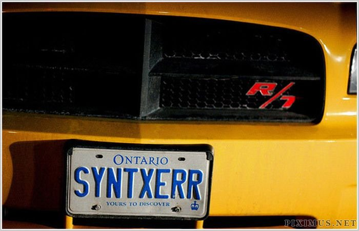 Cool License Plates