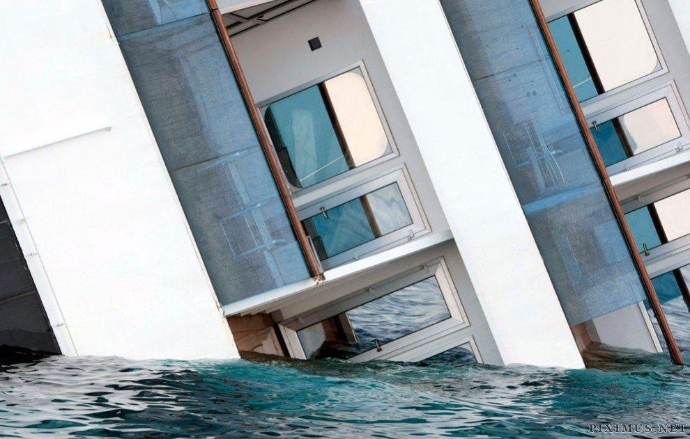 Shipwreck of the Costa Concordia