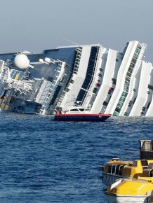 Shipwreck of the Costa Concordia