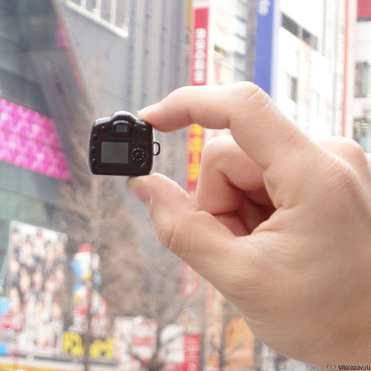 The Tiniest Camera in the World