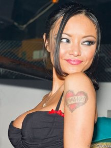 Tila Tequila in sexy outfit