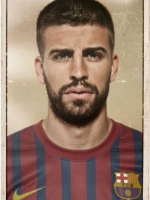 FC Barcelona Vintage Football Cards