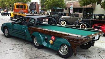 Amazing Pool Table Car