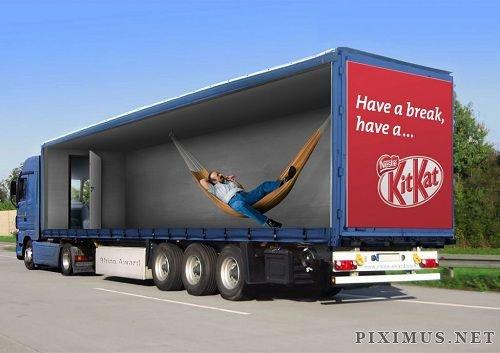 Truck Advertising Design Ideas