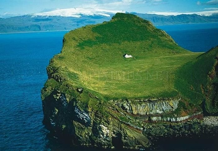 Only One House on the Island
