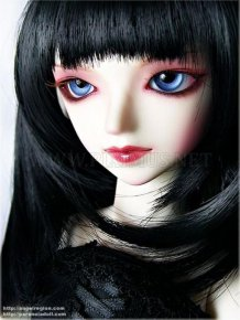 Very Weird Dolls in Gothic Style
