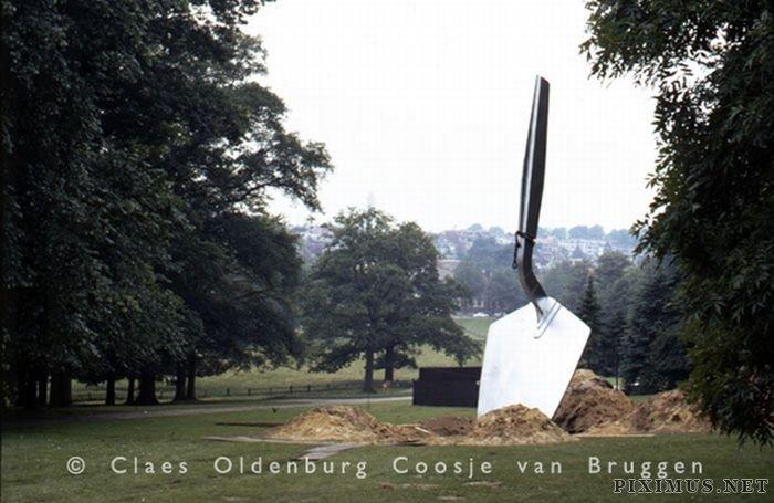 Giant World by Claes Oldenburg