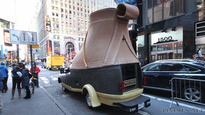 L.L. Bean Bootmobile