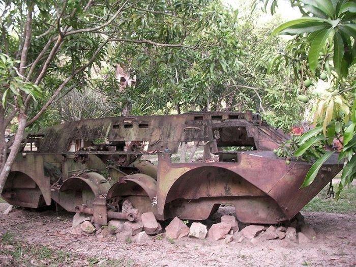 War Museum in Cambodia