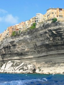 Living on the edge of the cliff - rock city in Europe