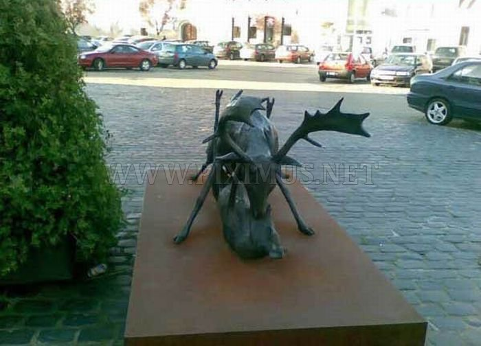 WTF Statue