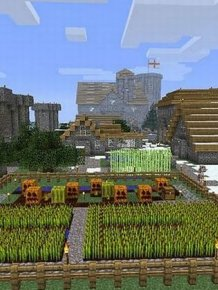 Minecraft Village Comes to Life
