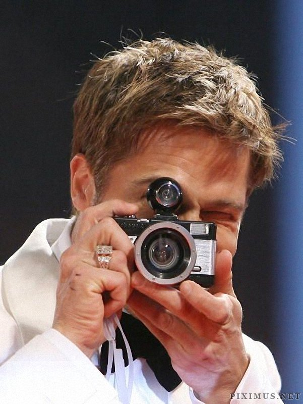 Celebrities on the other side of the lens