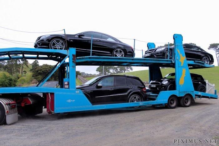 Kim Dotcom and His Cars
