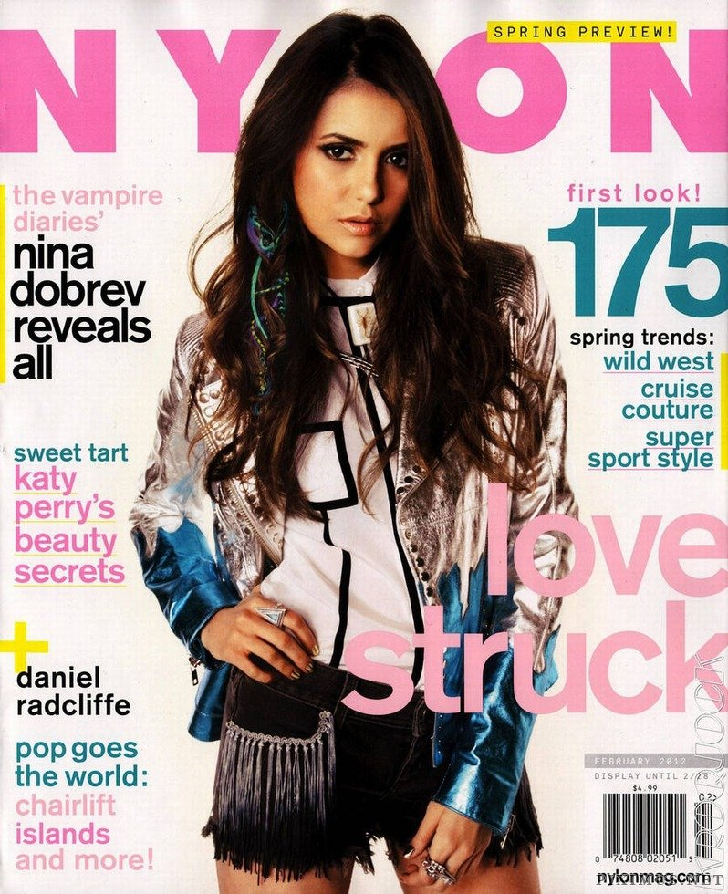Nina Dobrev - Nylon Magazine