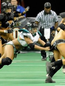 The final match of Lingerie Bowl